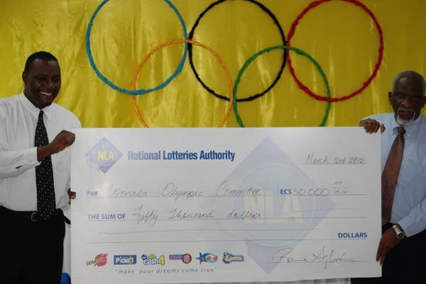 National Lotteries Authority on board for London 2012